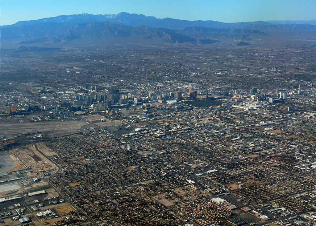 Las Vegasin ilmakuva