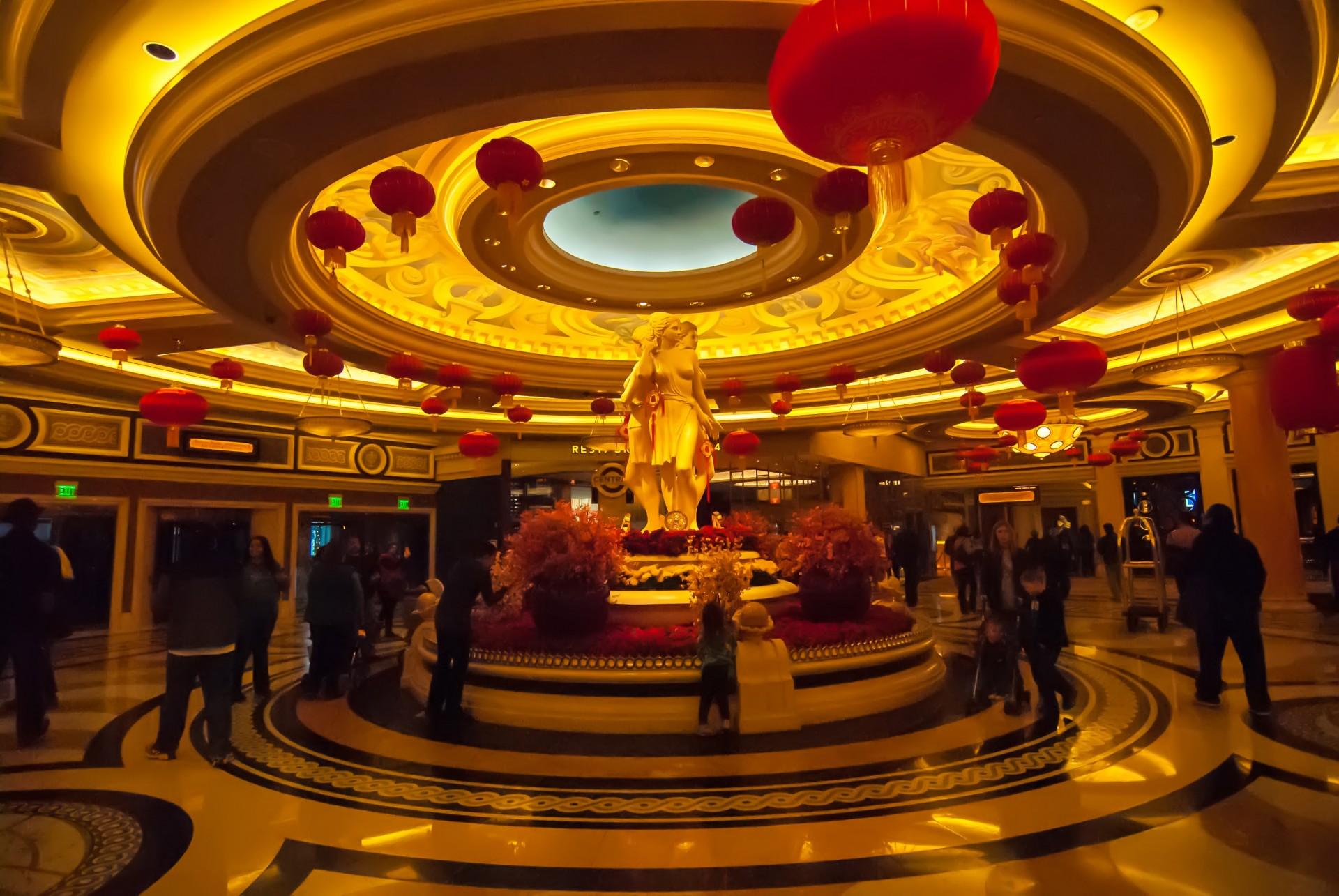 Las Vegasin yhden kasinon sisäänkäynti